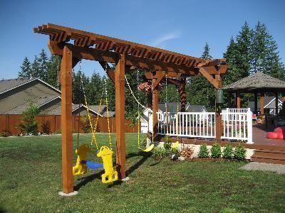 How To Build A Swing Set, Building Swing Sets, Swingset - DIY | Outside  projects | Pinterest | Swings, Gardens and Backyard - How To Build A Swing Set, Building Swing Sets, Swingset - DIY