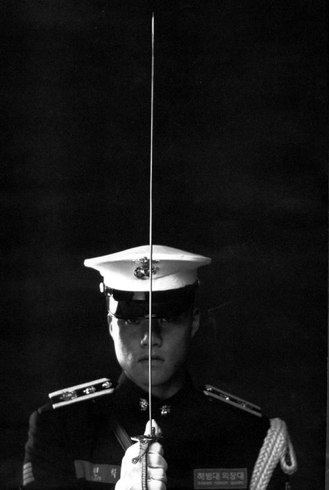 "Republic of Korea Marine corps""Honor Guard"""