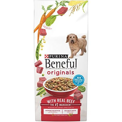 Purina Beneful Originals With Real Beef Dog Food Recipes