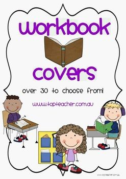 Workbook cover pages | Kindergarten workbooks, Cover pages ...