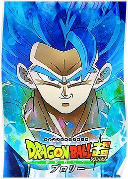 Super Saiyan Blue Gogeta Poster Dragon Ball Wallpapers Anime