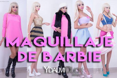 Cómo Maquillarse Y Vestirse Como Barbie Barbie Vestidos Y