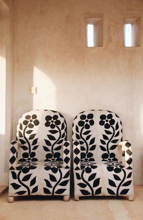 Yoruba Beaded Chairs In 2020 Old Chairs Boho Chair