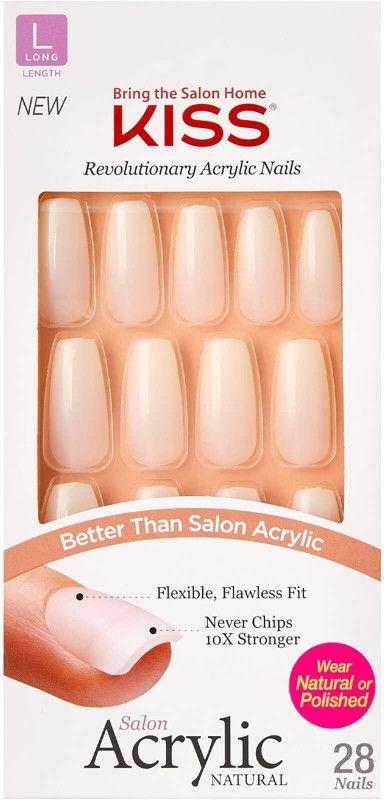 Kiss Strong Enough Salon Acrylic Nails Ulta Beauty In 2020 Acrylic Nails Brittle Nails Treatment Diy Hair Loss Treatment