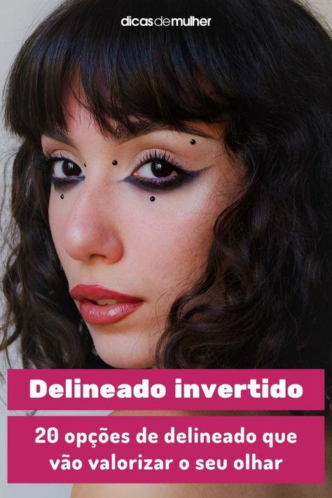 #delineado #invertido #make #maquiagem #dicas #dicademake #visual #dicadebeleza #reversecateyeliner | 📸 @sofk.ap
