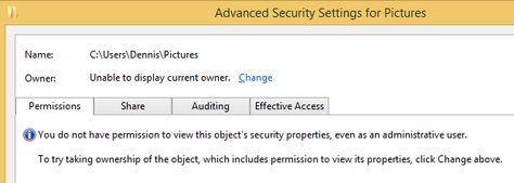How to make folders private on a Windows 8.1 family PC
