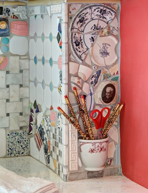 10 Simple and Impressive Tips Can Change Your Life: Tumbled Marble Backsplash french farmhouse backsplash.Backsplash Diy Tin subway tile backsplash with granite. Beadboard Backsplash, Mosaic Backsplash, Herringbone Backsplash, Mosaic Wall, Backsplash Ideas, Backsplash Arabesque, Travertine Backsplash, Mosaic Mirrors, Kitchen Mosaic Tiles