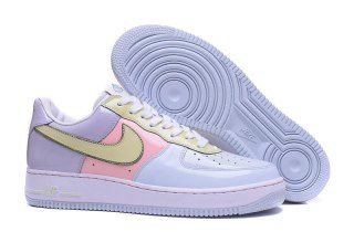 e495c0c78047 Mens Womens Nike Air Force 1 Low Easter 2017 Retro Titanium Lime Ice Storm  Pink 845053 500 Running Shoes