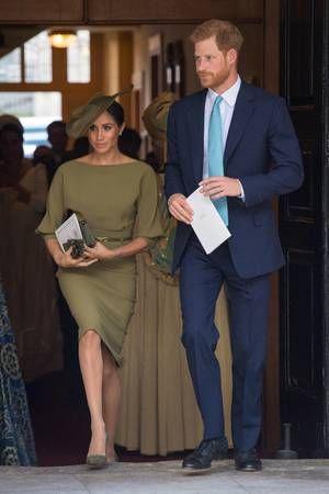 Royale Taufe Von Prinz Louis Die Looks Der Gäste Meghan