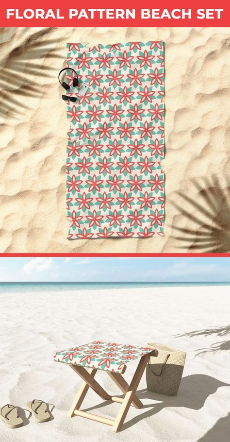 Want to make your beach time full of fun? then get this Floral beach set. This has Floral pattern Folding Stool and Floral beach towel. oversized beach towels are good enough for you to lay on. beach Folding stools are lightweight perfect for any outdoor use. society6 folding stool #Floralbeachtowel #Summerbeachtowel #Floraltowel #beachtowel #beach #towel #bathtowel #beachaccessories #Oversizedbeachtowel #beachlife #beachtime #foldingstool #stools #outdoor #furniture #beachfoldingstool