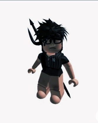 This Is A Copy And Paste Black Hair Roblox Roblox Pictures Roblox