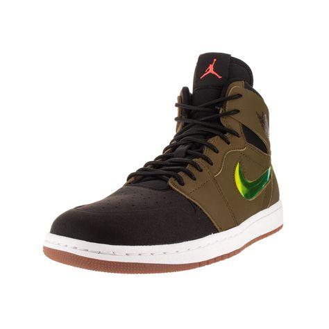 Nike Jordan Men's Air Jordan 1 Retro High Nouv Mlt / Orange/Black/White Basketball Shoe