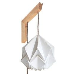 Bois Design Et Papier Murale Applique En Suspension Origami A5Rj4L