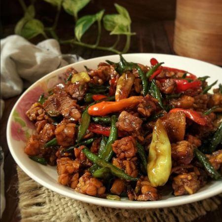 Resep Tumis Tempe Saus Tiram Iniresep Com Resep Resep Masakan Asia Resep Masakan Resep Masakan Indonesia