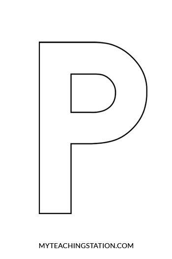 Letter P Craft Penguin Letter P Crafts Letter A Crafts Letter P Activities