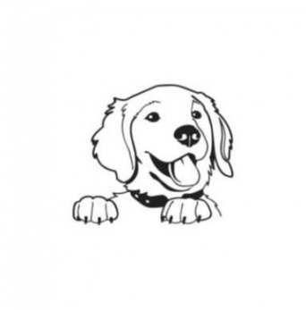 16 Ideas Dogs Tattoo Memorial Golden Retriever Dogs Tattoo Goldenretriever Golden Retriever Drawing Golden Retriever Tattoo Golden Retriever Art