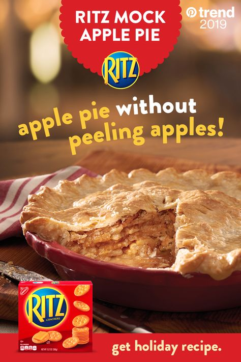 RITZ Mock Apple Pie
