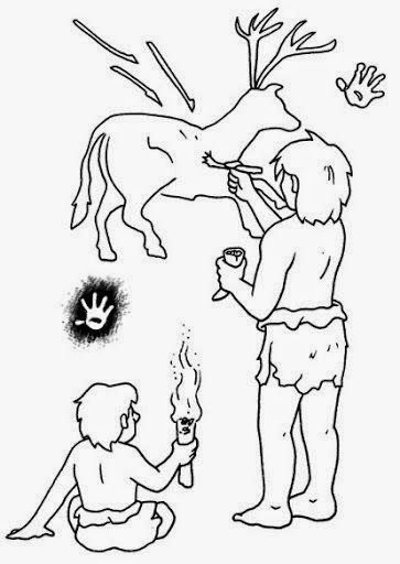 Dibujos Para Colorear Maestra De Infantil Y Primaria Dibujos Para Colorear La Prehistoria La Prehistoria Para Ninos Arte De La Prehistoria Prehistoria