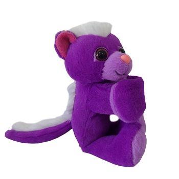 Best Stuffed Animals For Boy, Huggers Purple Skunk Stuffed Animal Slap Bracelet By Wild Republic Skunk Purple Slap Bracelets