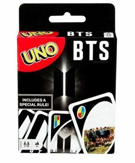Pre Order Bts Uno Card Game Pre Order Uno Card Game Party Card Games Card Games