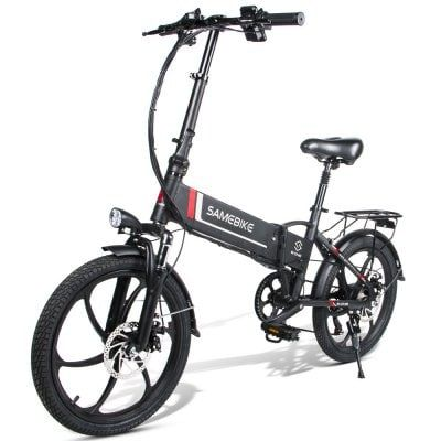 Samebike 20lvxd30 Smart Folding Electric Moped Bike E Bike 3 5
