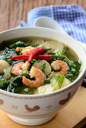 Pin Di Sup Sayuran