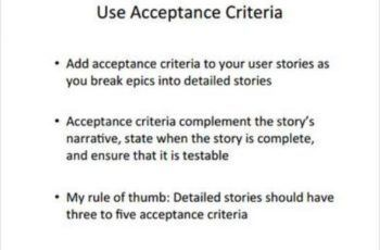 Agile Acceptance Criteria Sample Examples And Templates User