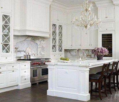 Stunning Luxury White Kitchen Design Ideas 44 Classic White Kitchen White Kitchen Design Home Kitchens