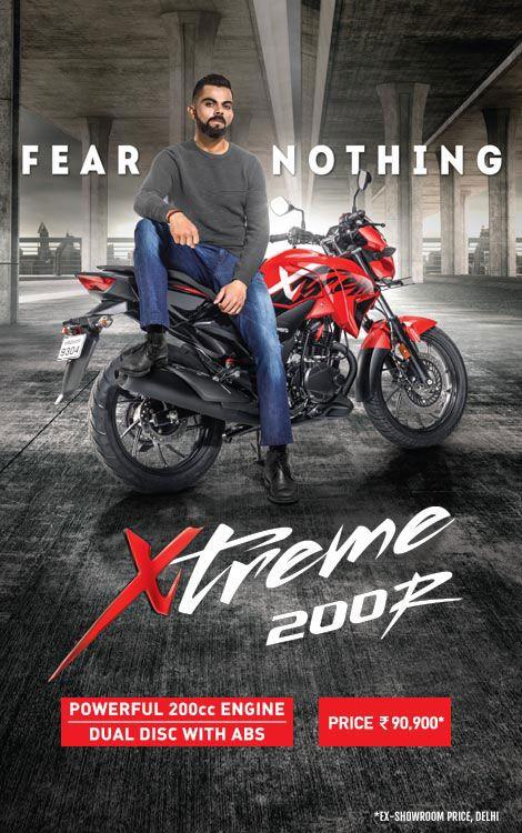 Hero Xtreme 200r Hero Xtreme 200r Motorcycle Colours Mileage