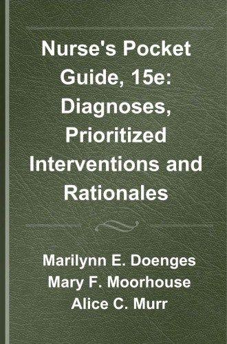 Pdf Nurse S Pocket Guide 15e Diagnoses Prioritized