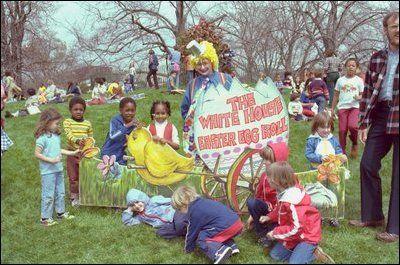 White House Easter Egg Roll 1980 White House Easter Egg Egg Rolls Easter Eggs