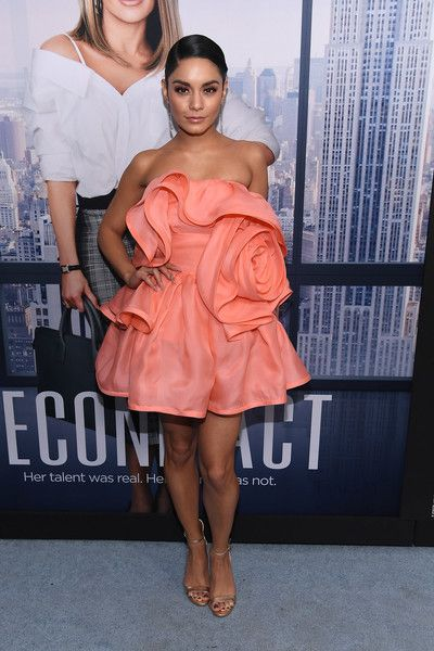 Vanessa Hudgens attends the world premiere of 'Second Act' at Regal Union Square Theatre.