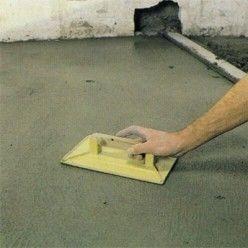 Comment Couler Une Chape De Ciment Sur Une Vieille Dalle En Beton Dalle Beton Ciment Chape Beton