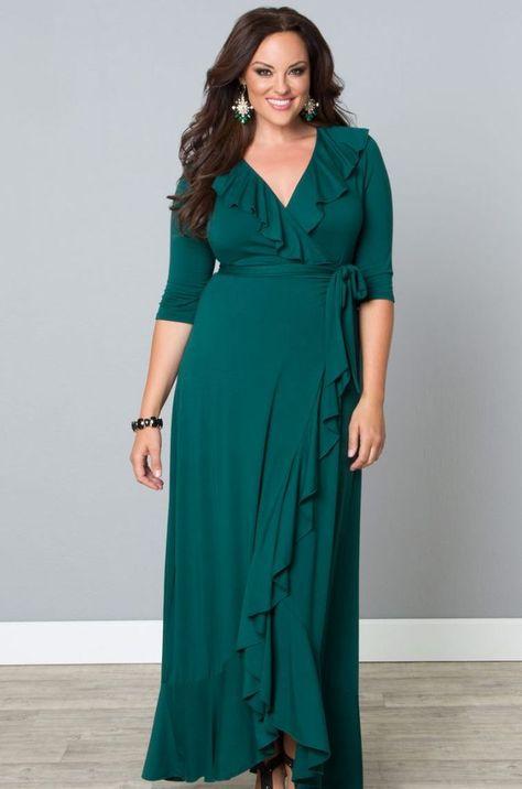 Wrapped in Romance Dress   Plus size, Moda Gorditas!   Pinterest ...