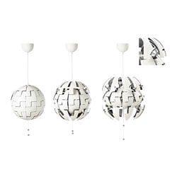 PS 2014 Pendant lamp white, silver color 14