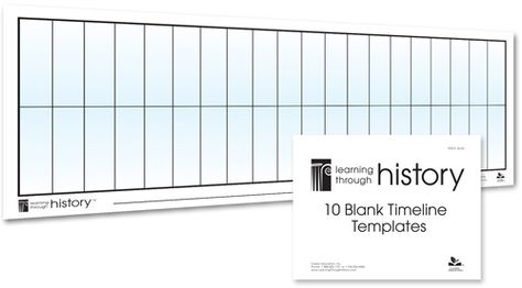 Blank Timeline Templates 10 Pack-- I thought I lost these!! Glad I - timeline templates