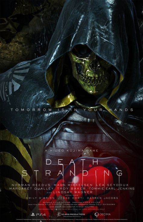 Pin By H20 Akatsuki On Death Stranding Ps4 In 2020 Death Stranding Poster Death Poster