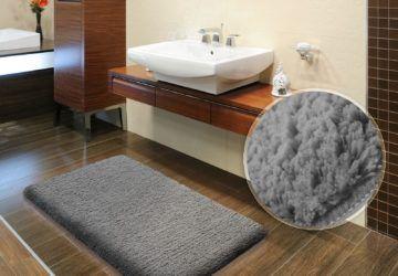 Pin By Homegenerosity On Http Homegenerosity Com Bathroom Rugs White Bathroom Decor Blue Bathroom Rugs