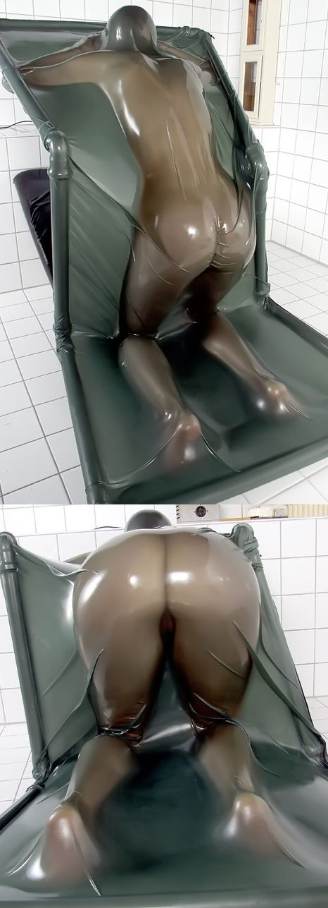 Latex Vac Bed Video