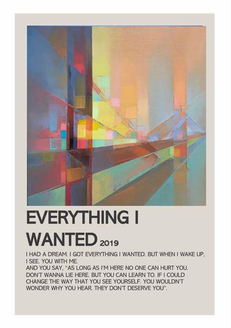 everything i wanted - billie eilish - by lola