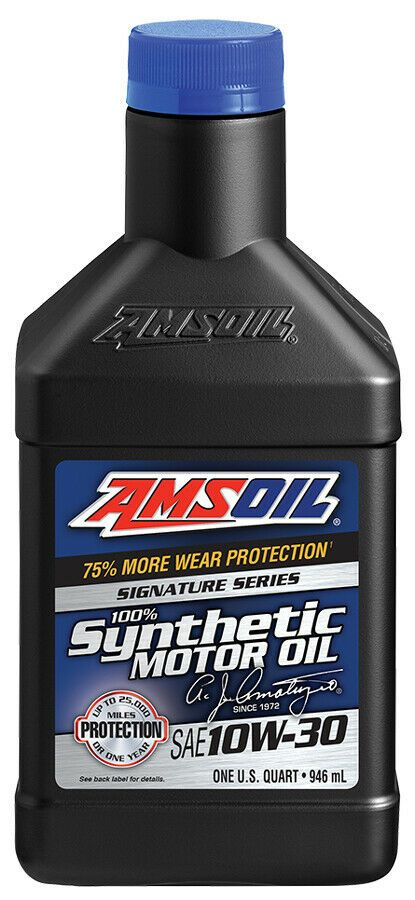 Ebay Advertisement Amsoil Signature Series 10w 30 Synthetic Motor