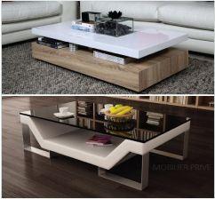Lot De 2 Tabourets Design En Tissu Gris Clair Frazer Tabouret Design Table Basse Table Basse Design