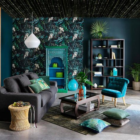Pin su Jungle living room