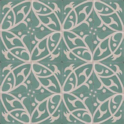Moroccan Encaustic Cement Pattern 12d