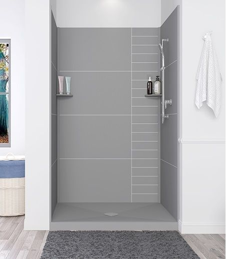 Ada Solid Surface Shower Wall Panel Shower Wall Panels Shower Wall Wall Paneling