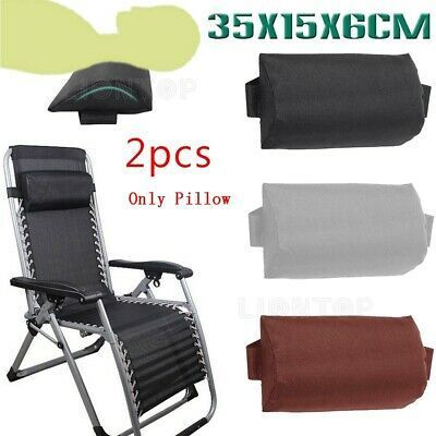 2pcs head cushion pillow folding sling