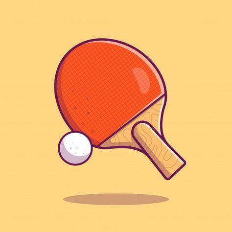 Table Tennis Icon Racket Ball And Ping Pong Sport Icon Isolated Paid Paid Ad Icon Tennis Ball Racket In 2020 Table Tennis Ping Pong Sport Icon