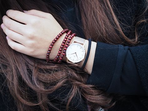 A Swiss designed watch based on simplicity, contemporary fashion. #wellymerck #watches #fashion