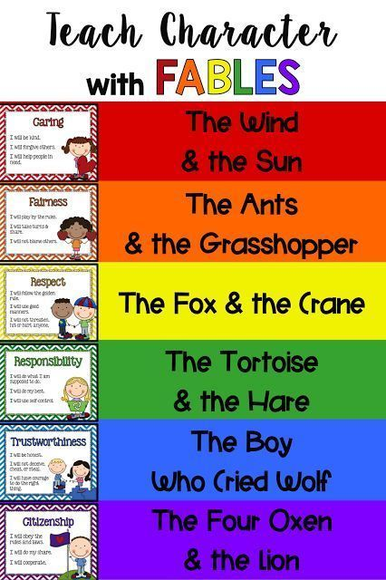 Character Education Interactive Notebook Posters And More