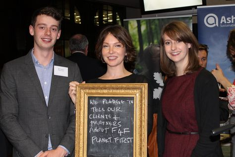 Planet First make their mark at #Fit4Future launch with a pledge - thanks guys @ThePlanetMark